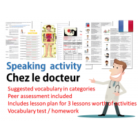 Chez le docteur - Speaking peer assessment