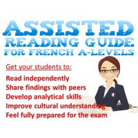 AQA French A-Levels Cultural Understanding Assisted Reading Guide - Covers the 4 prescribed themes