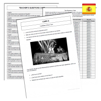 12 Cards: Spanish AQA Mock GCSE Speaking test pack