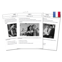 120 High Quality French GCSE Photocards for AQA Photo Cards
